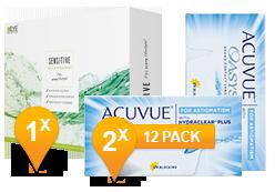 ACUVUE OASYS® Astigmatism & Sensitive Plus MPS Promo Pack