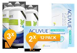 Acuvue Oasys Presbyopia & Sensitive Plus MPS Promo Pack