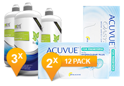 ACUVUE OASYS® Presbyopia & Sensitive Plus MPS Promo Pack