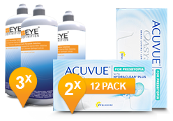 Acuvue Oasys voor Presbyopia & Soft Peroxide Solution Promo Pack
