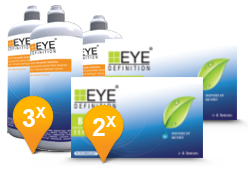 EyeDefinition Bio Sensitive & Soft Peroxide Solution Promo Pack