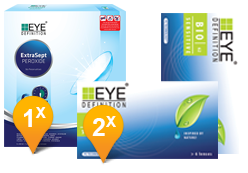 EyeDefinition Bio Sensitive & Extrasept Promo Pack