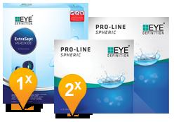 EyeDefinition Pro-Line Spheric & EasySept Promo pack