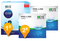 EyeDefinition Pro-Line Toric & Extrasept Promo Pack