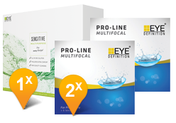 EyeDefinition Pro-Line Multifocal & SENSITIVE Promo Pack