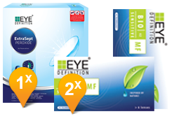 EyeDefinition Bio Sensitive Multifocal & EasySept Promo Pack
