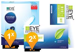 EyeDefinition Bio Sensitive Multifocal & Extrasept Promo Pack