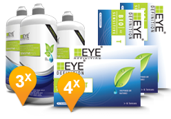 EyeDefinition Bio Sensitive Toric & Sensitive Plus MPS Promo Pack
