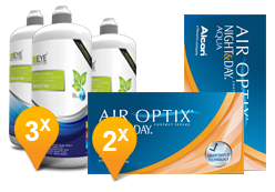 Air Optix Night & Day - EyeDefinition Sensitive Plus MPS Promo Pack