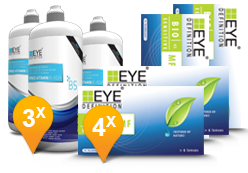 EyeDefinition Bio Sensitive Multifocal & Pro-Vitamin B5 MPS Promo Pack