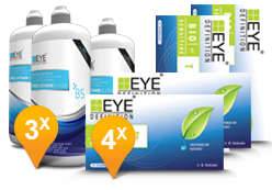 EyeDefinition Bio Sensitive Toric & Pro-Vitamin B5 MPS Promo Pack