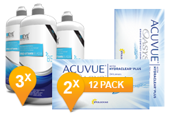 ACUVUE OASYS® & Pro-Vitamin B5 MPS Promo Pack