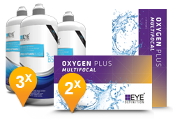 EyeDefinition Oxygen Plus Multifocal & Pro-Vitamin B5 MPS Promo Pack