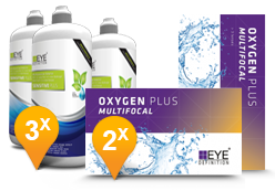 EyeDefinition Oxygen Plus Multifocal & Sensitive Plus met Hyaluron MPS Promo Pack