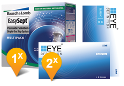 EyeDefinition Classic & Extrasept Promo Pack