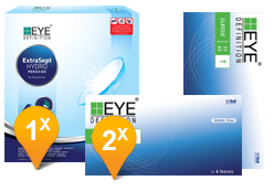 EyeDefinition Classic Toric & Extrasept Promo Pack