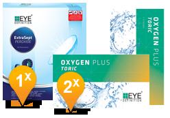 EyeDefinition Oxygen Plus Toric & Extrasept Promo Pack