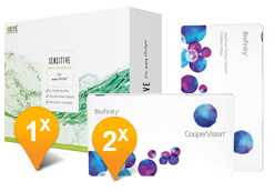 Biofinity & EyeDefinition SENSITIVE Promo Pack