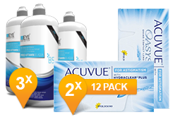 ACUVUE OASYS® Astigmatism & Pro-Vitamin B5 MPS Promo Pack