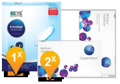 Biofinity Multifocal & EyeDefinition Extrasept Promo Pack