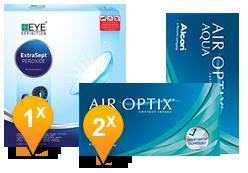 Air Optix Aqua & EyeDefinition Extrasept Promo Pack