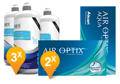 Air Optix Aqua & Pro-Vitamin B5 Promo Pack