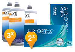 Air Optix Aqua & Soft Peroxide MPS Promo Pack