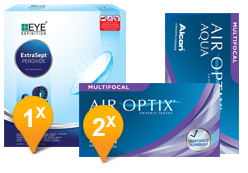 Air Optix Multifocal & EyeDefinition Extrasept Promo Pack