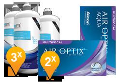 Air Optix Multifocal & Pro-Vitamin B5 Promo Pack