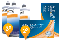 Air Optix Night & Day - Soft Peroxide MPS Promo Pack