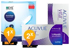Acuvue Vita & EasySept Promo Pack