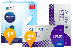 Acuvue Vita & Extrasept Promo Pack