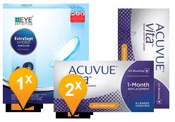 Acuvue Vita Astigmatism & EyeDefinition Extrasept Promo Pack