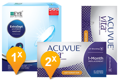 ACUVUE® VITA™ for Astigmatism & EyeDefinition Extrasept Promo Pack
