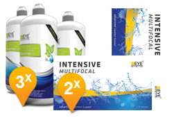 EyeDefinition Intensive Multifocal & Sensitive Plus MPS Promo Pack