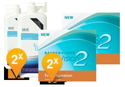 Purevision 2 for Astigmatism & Pro-Vitamin B5 abonnement