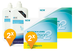 Purevision 2 Multifocal & Pro-Vitamin B5 abonnement