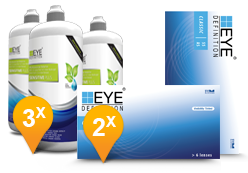EyeDefinition Classic 55AS & Sensitive Plus MPS Promo Pack