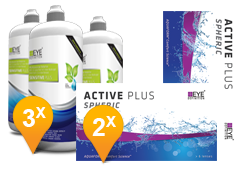 EyeDefinition Active Plus & Sensitive Plus MPS Promo Pack