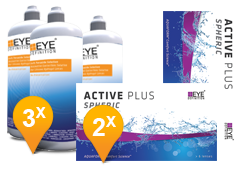 EyeDefinition Active Plus & Soft Peroxide Solution Promo Pack