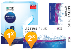EyeDefinition Active Plus & Extrasept Promo Pack