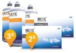 EyeDefinition Extreme & Soft Peroxide Solution Promo Pack