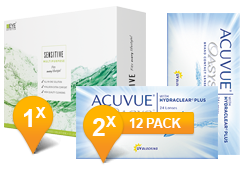 ACUVUE OASYS® & EyeDefinition SENSITIVE Promo Pack