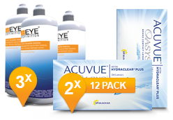 Acuvue Oasys & Soft Peroxide Solution Promo Pack