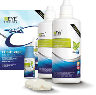 EyeDefinition Sensitive Flight Pack