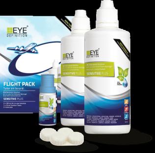 EyeDefinition Sensitive Plus MPS Flight Pack