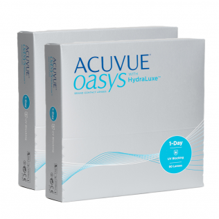 ACUVUE OASYS® 1-DAY with HydraLuxe™